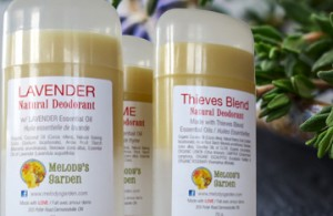 Melody's Garden Natural Deodorants