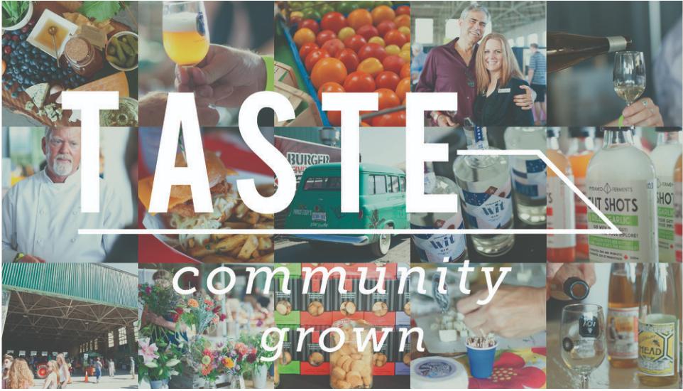 Taste–Community Grown 2019
